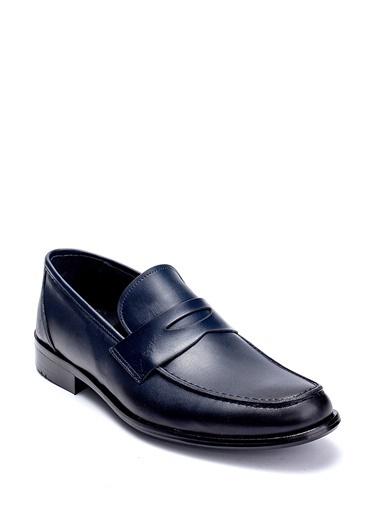 Derimod Erkek Ayakkabı(Da4477) Klasik Lacivert